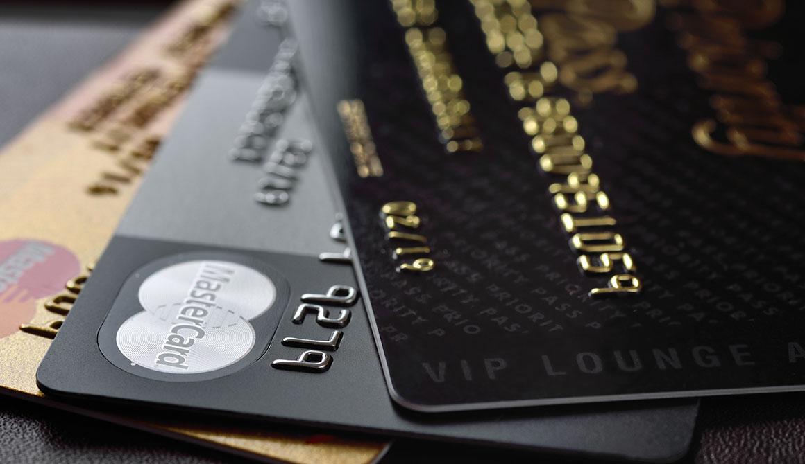 PICKOLOR Black - Bank Cards